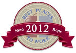 2012 Best Places to Work in Healthcare Sales