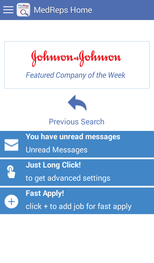Android Job Search App