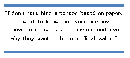 I don't hire based solely on a resume.