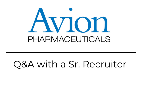 how to get entry-level pharma jobs at Avion