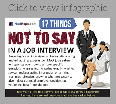 what to say in a interview