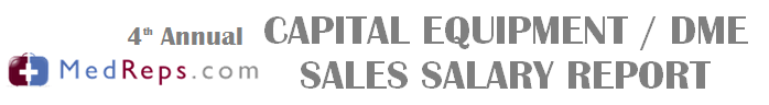 Medical Equipment Sales Salary Report