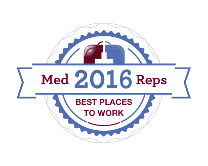 2016 Best Places to Work in Medical Sales
