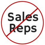 Medical Device Sales Reps not Welcome